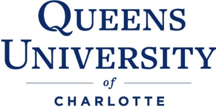 Special Thanks to Queens University of Charlotte